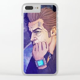 Broody Jackass. Clear iPhone Case