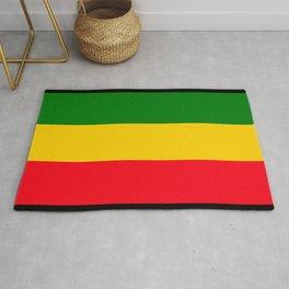Rastafarian Colors Rug