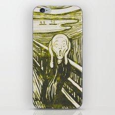 The Scream's Haze (yellow) iPhone & iPod Skin