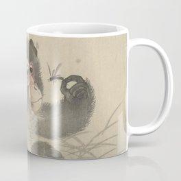 Monkey with insect - Ohara Koson (1900 - 1930) Coffee Mug