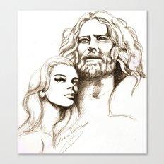 Loving Dreamers Canvas Print