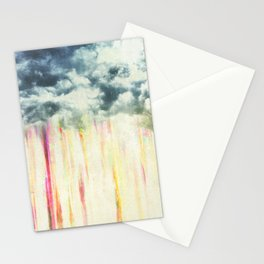 Let it rain on me Stationery Cards