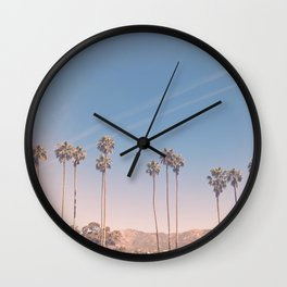Cali Life, No. 3 Wall Clock