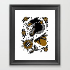 tattoo set 2 Framed Art Print