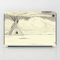 plain iPad Cases featuring Lonely Plain by Ursula Rodgers