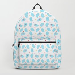 Ghosty Pattern Backpack