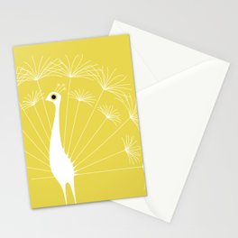 Dandelion Peacock Stationery Cards