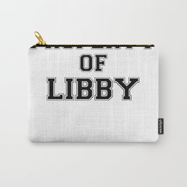 Property of LIBBY Carry-All Pouch