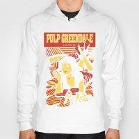 pulp Hoodies featuring Pulp Greendale by Shana-Lee
