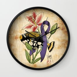 For Kathryn, My Love Wall Clock