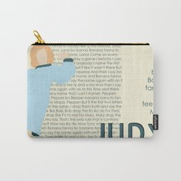 Judy Martin - Name Game w/Judy Lyrics Carry-All Pouch