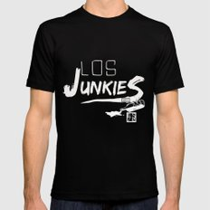 los junkies del barrio Black Mens Fitted Tee MEDIUM