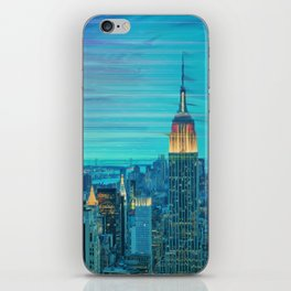 New York Lights iPhone Skin