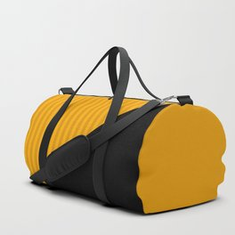 Black and yellow Duffle Bag
