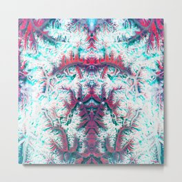 What you really see | Hidden Forms Metal Print
