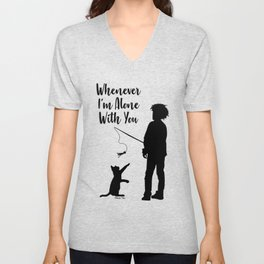 Alone With You Unisex V-Neck