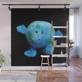 Zero-G Indicator - Earth Plush Wall Mural