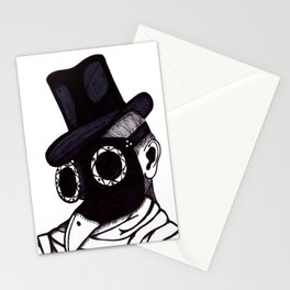 Plague Doctor Stationery Cards