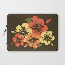 Epic Hibiscus Hawaiian Floral Aloha Shirt Print Laptop Sleeve