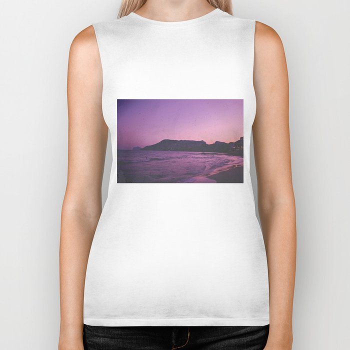 is there really anything better than a great sunset? Biker Tank