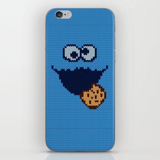monster 'nom nom' knit iPhone & iPod Skin