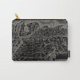 Venezuela Antique Map Carry-All Pouch