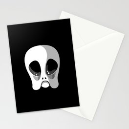 grey gramps Stationery Cards