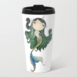 a lovely uni-mermaid Travel Mug