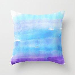 Chromatography 2 Throw Pillow