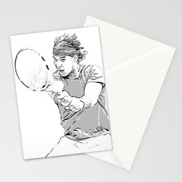 Rafa's Brilliant Backhand Stationery Cards