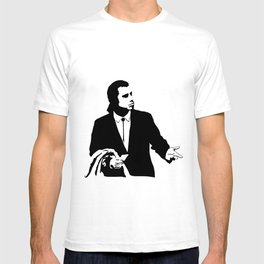 Vincent Vega John Travolta Confused Wallet T-shirt