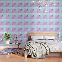 Brilliant Lavender Celeste Wallpaper