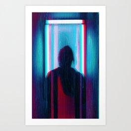 anaglych_30 Art Print