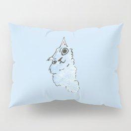 Kitty Blue Pillow Sham