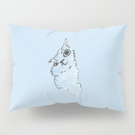 Kitty Blue Pillow Sham