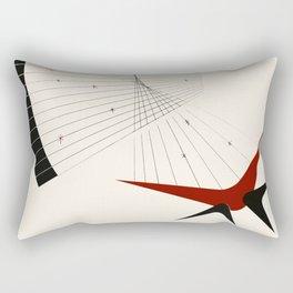 Mid Century Modern Boomerangs Rectangular Pillow