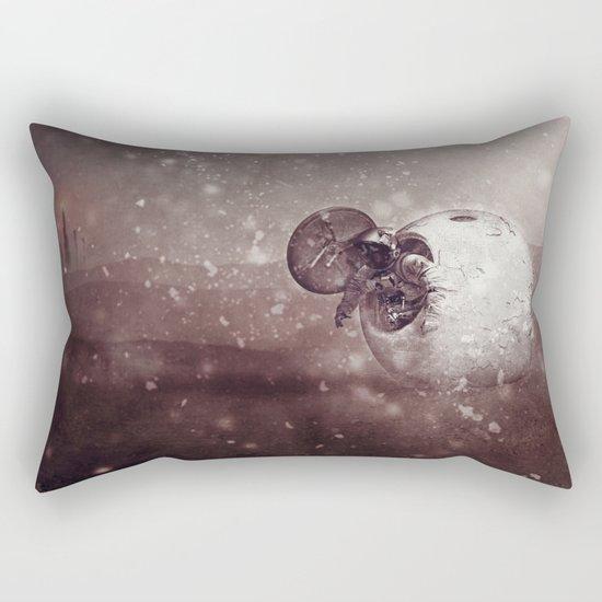 Harsh Conditions Rectangular Pillow