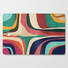 Impossible contour map Cutting Board