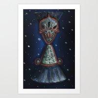 bijoux Art Print