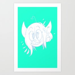 demon daughters Art Print