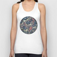 anxiety Tank Tops featuring Anxiety by Mallory Hodgkin