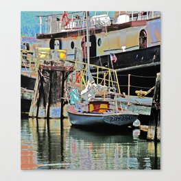 A Harbor view of Coos Bay Canvas Print