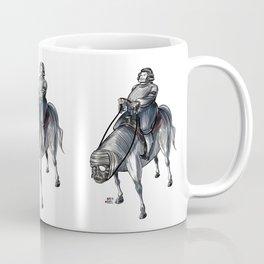 Numero 4 -Cosi che cavalcano Cose - Things that ride Things- Coffee Mug