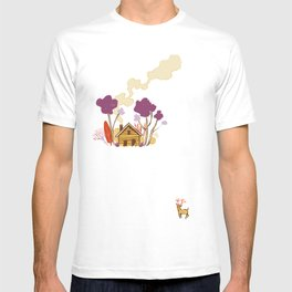 Cabin in Woods T-shirt