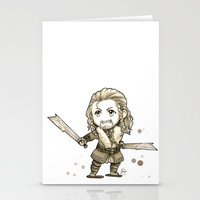 fili Stationery Cards featuring Fili Chibi by KuroCyou