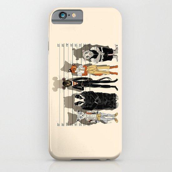 Unusual Suspects iPhone & iPod Case