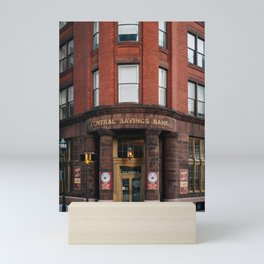 Central Savings Bank Mini Art Print