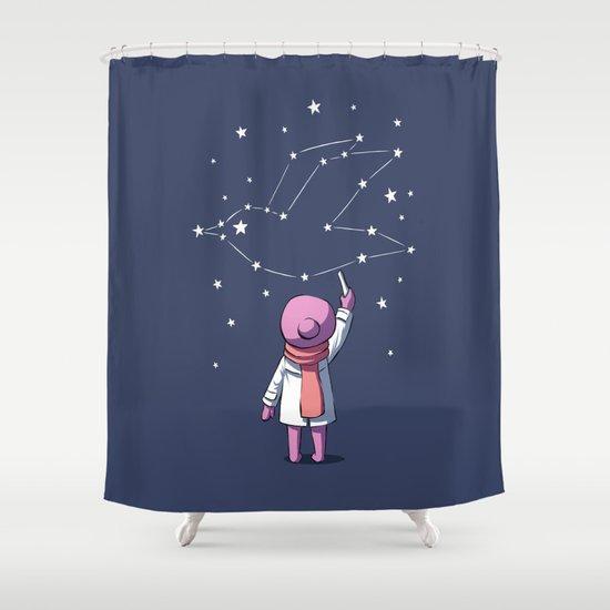 Constellation Shower Curtain