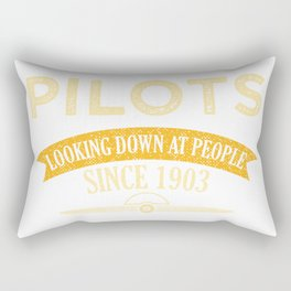 Pilot Proud Aviation Lover Gift Idea Rectangular Pillow