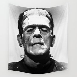 Frankenstien | Franky | Horror movies | Munsters | Gothic Aesthetics Wall Tapestry